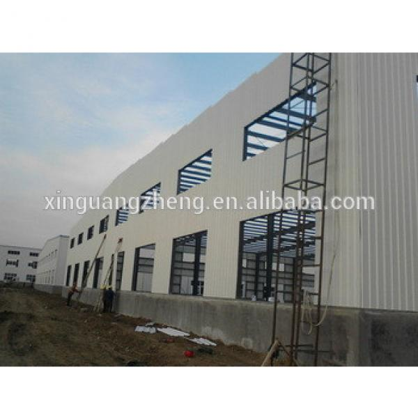 prafab steel frame warehouse with good price #1 image