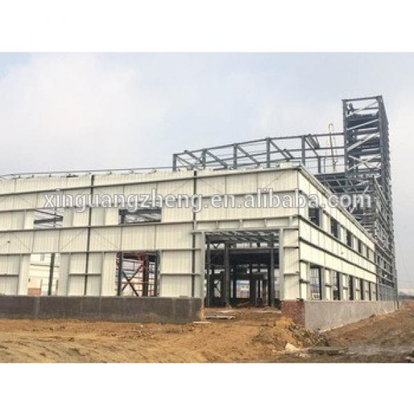 fast construct steel structure warehouse building #1 image