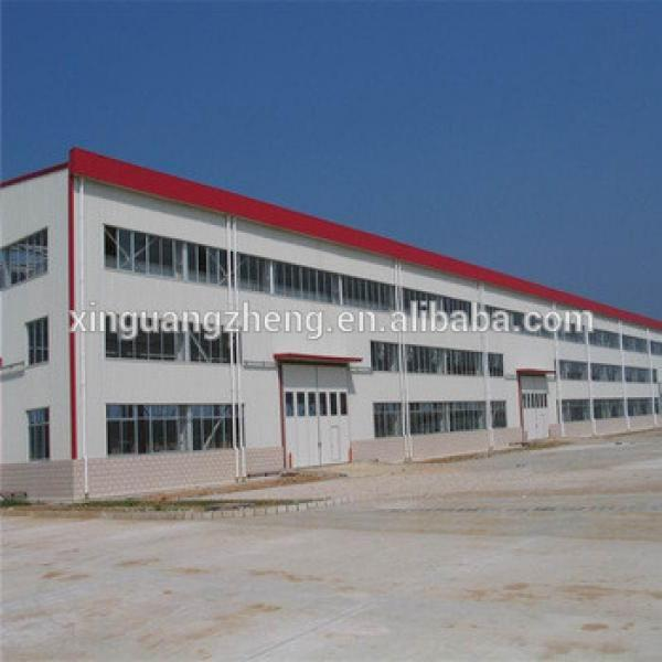 low cost high quality two story steel structure warehouse storage #1 image