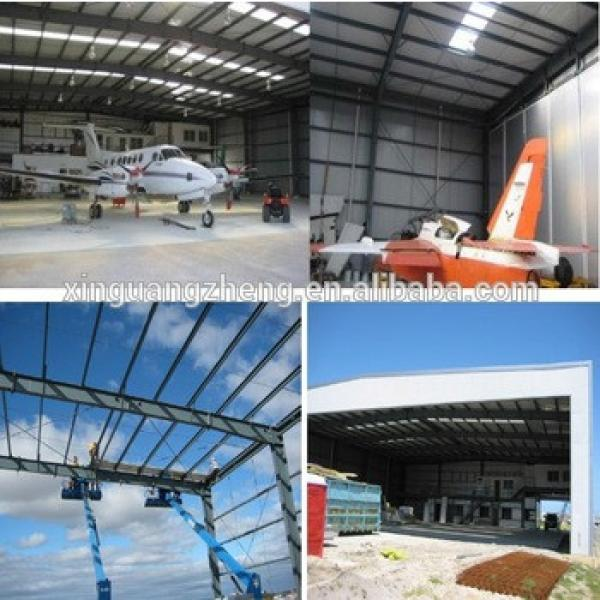 Clear span construction aircraft hangar #1 image