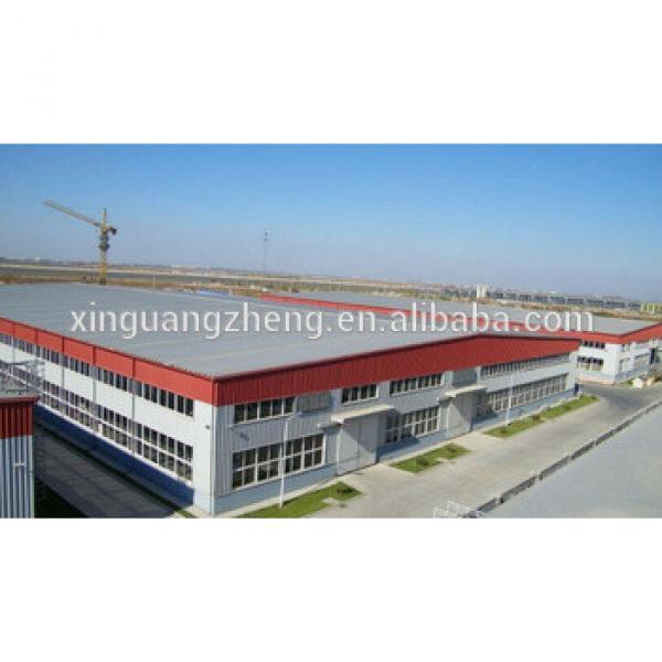 steel structure workshop /warehouse with mezzanine floor #1 image