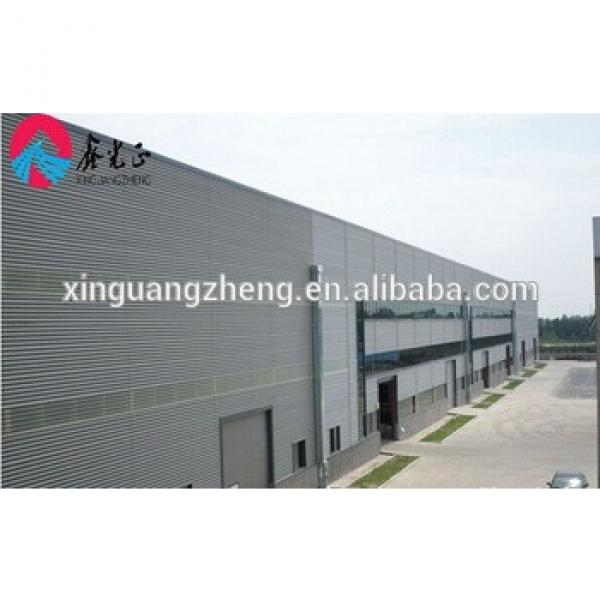 new design light prefab steel frame storage warehouse building #1 image