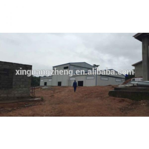 construction design steel structure prefabricated rice warehouse #1 image
