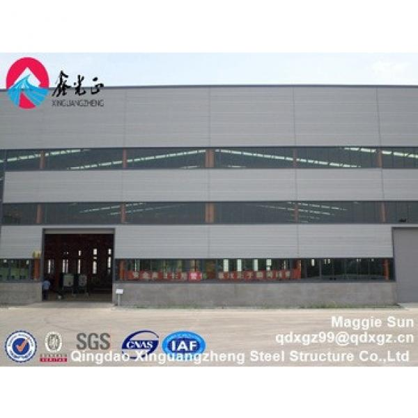 Industrial prefabricated EPS steel structure frame warehouse #1 image