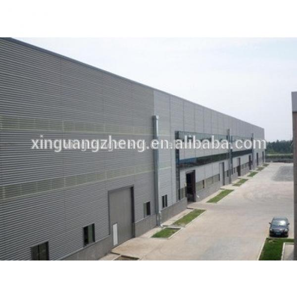 modern new design steel frame dubai prefabricated warehouse building #1 image
