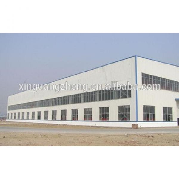 steel structure low cost Ghana prefabricated warehouse #1 image