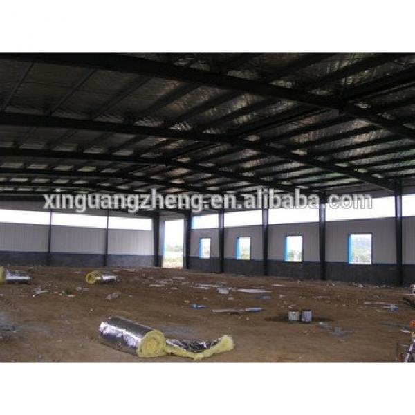 Galvanized sheet material prefabricated steel frame house #1 image