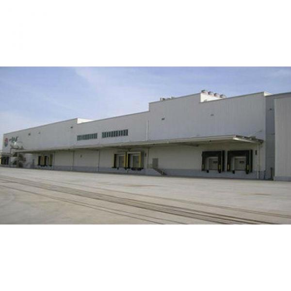 prefabricated qingdao steel structure warehouse #1 image