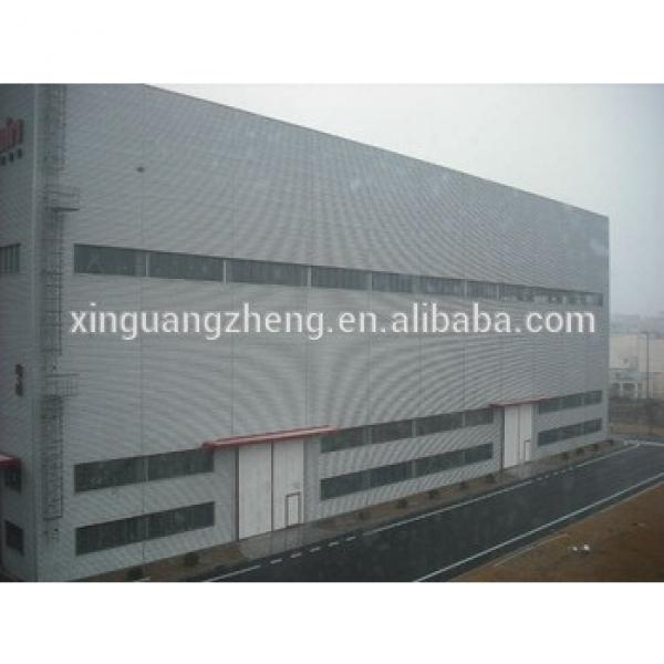 galvanized steel structure fabricated modular construction warehouse prefabricated panel house #1 image