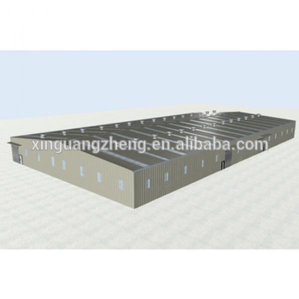 light Structural steel warehouse with factory crane #1 image