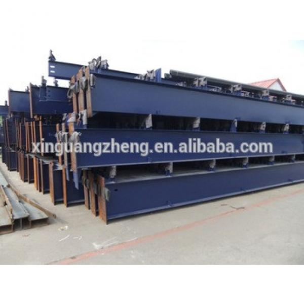 large span steel structure low cost with design H beam warehouse #1 image
