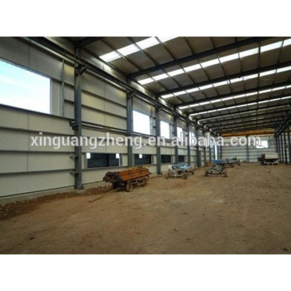 prefab steel frame factory building Tanzania #1 image