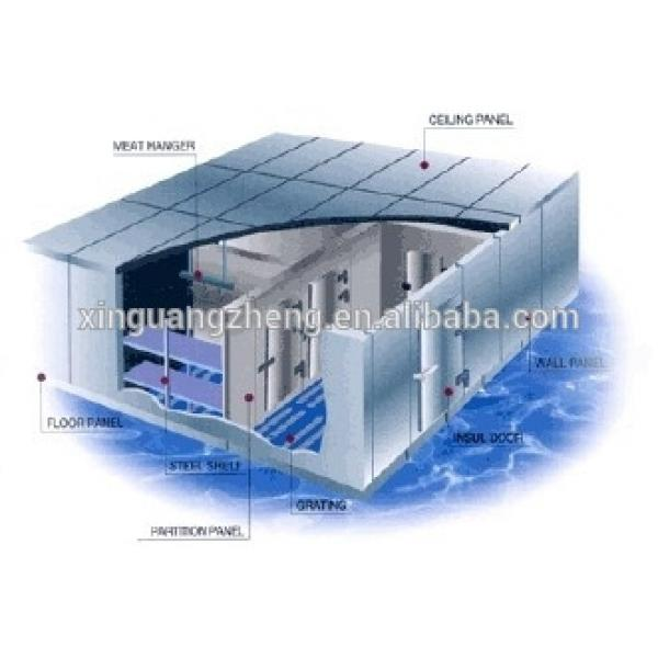 frozen store for vegetable/meat/chicken /steel structural cold storage warehouse #1 image