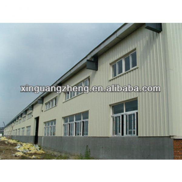 prefabricated steel warehouse metallic roof structure #1 image