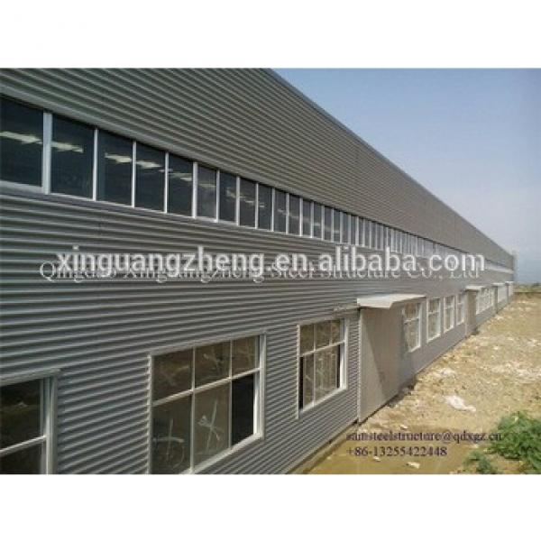 Q345 steel structure warehouse building galvanized steel building frame #1 image