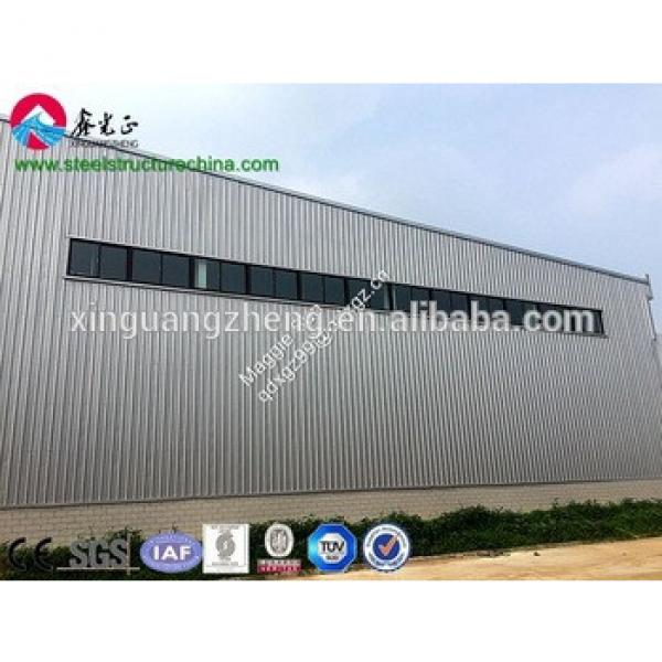 CHINA PREFABRICATED METAL STEEL CONSTRUCTION WAREHOUSE #1 image