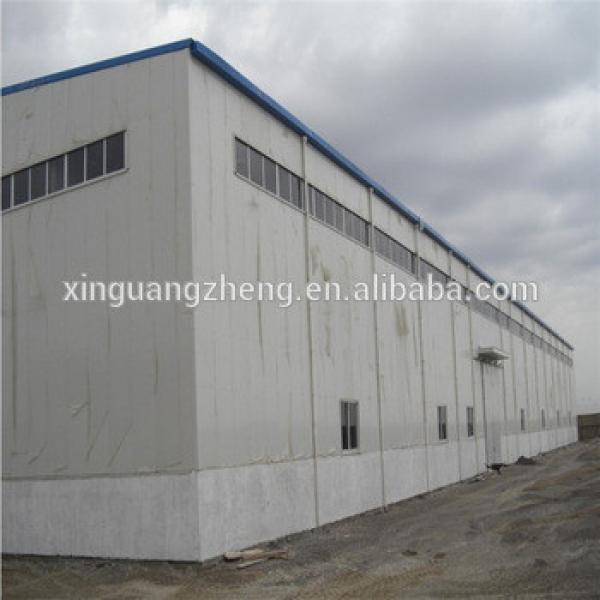 STRUCTURAL STEEL FABRICATION CHINA PREFABRICATED WAREHOUSE STEEL GODOWN BUILDING #1 image