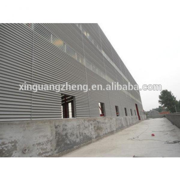 China Steel Metallic Roof Fabrication Warehouse Shed #1 image