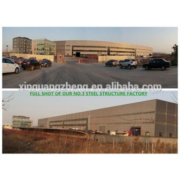 Construction design chinese prefabricated steel warehouse #1 image