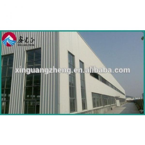 QINGDAO STEEL STRUCTURE ONE SLOPE ROOF WAREHOUSE MANUFACTURER #1 image