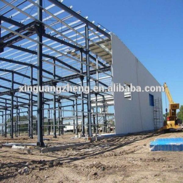 Wide Span Huge Width Steel Warehouse Storage #1 image