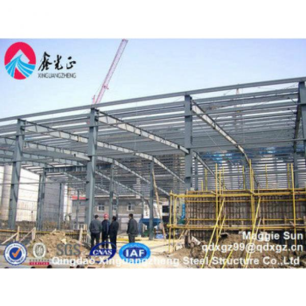 Low cost design Structural Steel Frame Warehouse steel farm warehouse #1 image