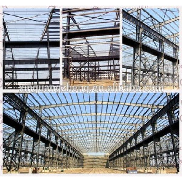 PREFAB BUILDING MATERIAL Light Steel Warehouse Structure #1 image