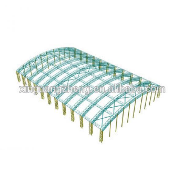 prefabricated steel structure truss design #1 image
