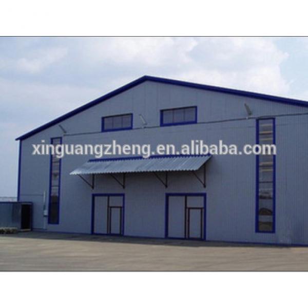 Portable Fabricated Steel Frame Prefabricated Warehouse #1 image