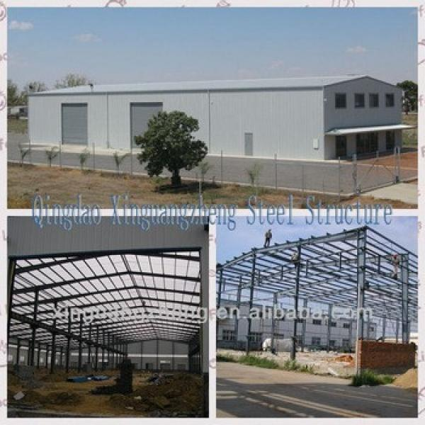 ISO 900 Certificated light steel structure Warehouse #1 image