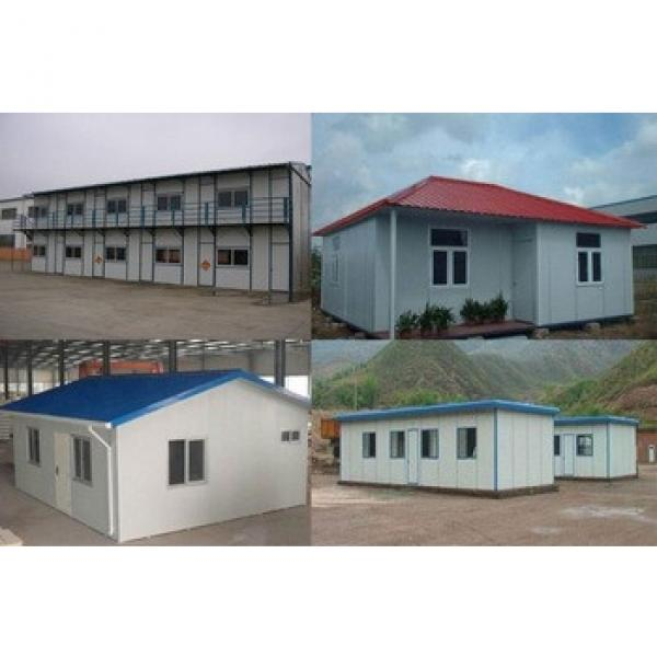 low cost steel structure prefab luxury house #1 image