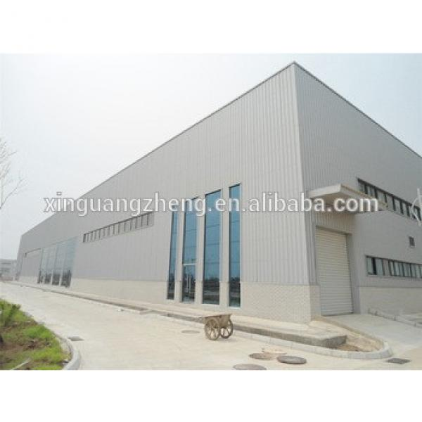 prefabricated steel warehouse in africa #1 image