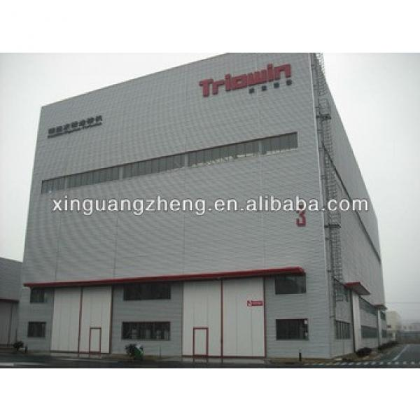 construction two storey steel structrue ready made warehouse #1 image