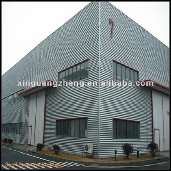 large span construction design steel structure warehouse #1 image