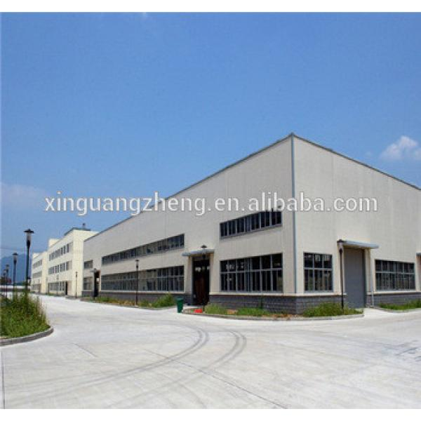 china best price readymade steel structures for warehouse #1 image
