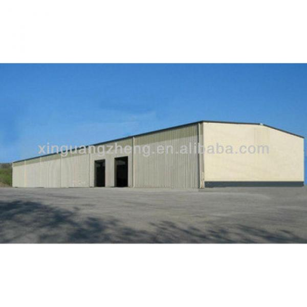Light prefab steel H beam structure frame warehouse buildings #1 image