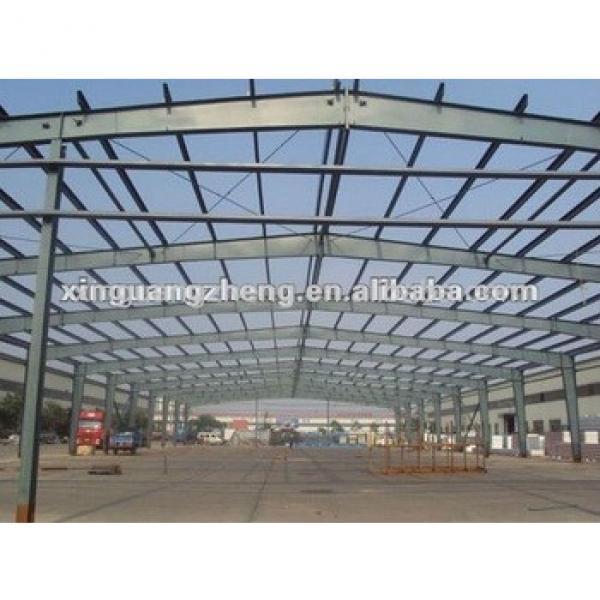 Light prefabricated steel H beam structure frame warehouse buildings #1 image