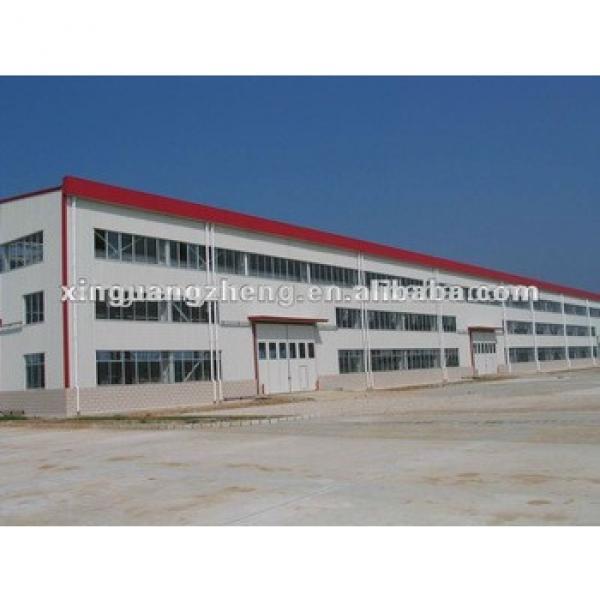 Prefab steel structure color sandwich panel warehouse/carport/car garage /steel structure building project #1 image