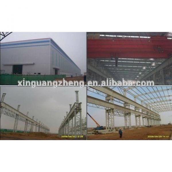 Light Prefab steel structure workshop for pig house / poultry shed with low cost in China #1 image