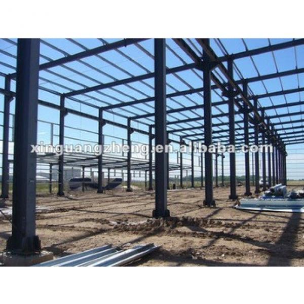 steel frame large span steel warehouse #1 image