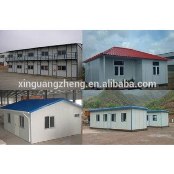 good quality style two-storey well-insulated steel structure prefab house #1 image