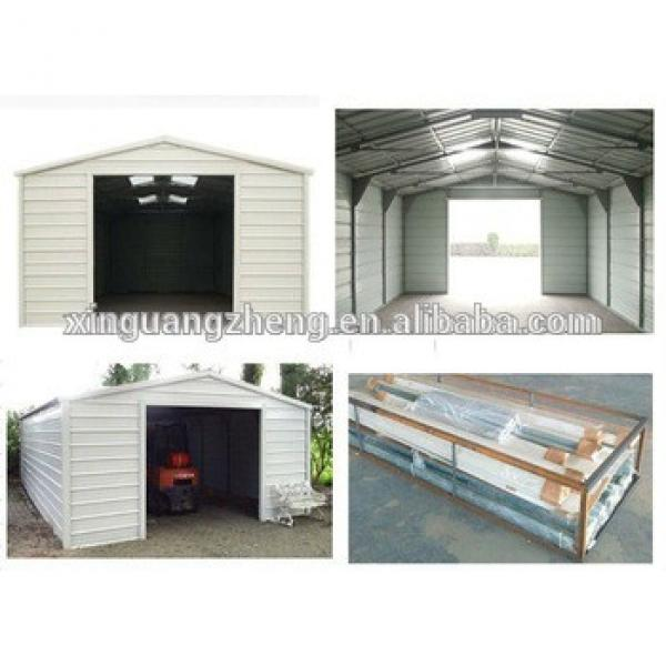 Prefabricated steel structure car showroom #1 image