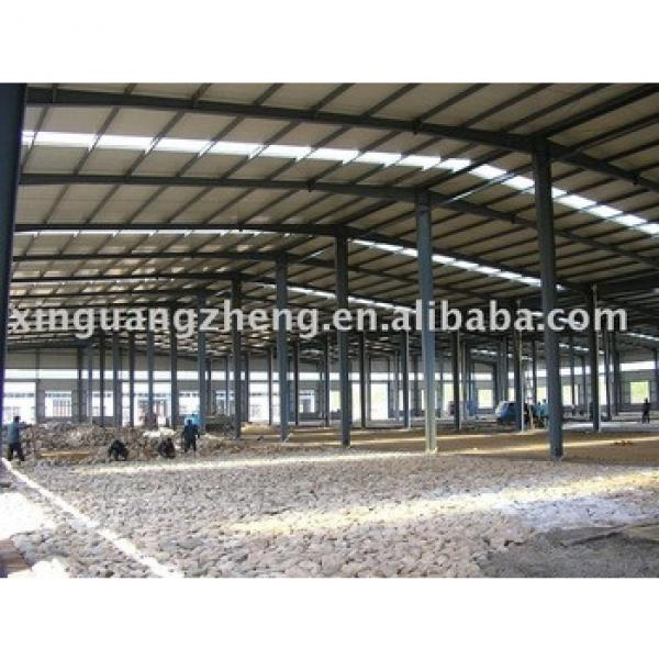 construction large span cheap qingdao steel structure warehouse #1 image