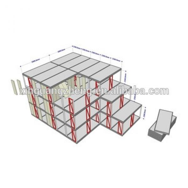 sandwich panel/ steel structure/ fibercement board Material and school, nursery Use steel structure school building #1 image
