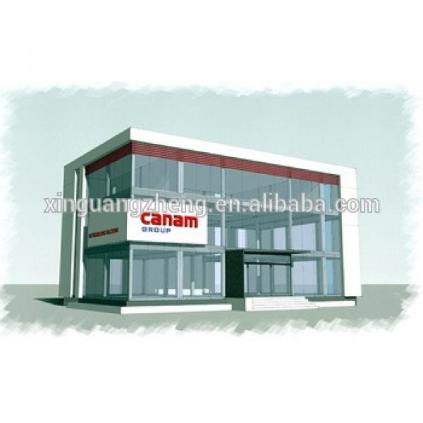 light steel frame structure galss office building /apartment #1 image