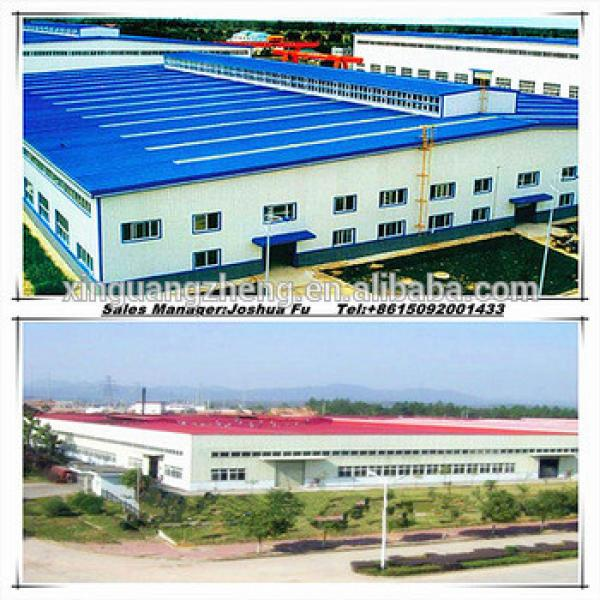 strong construction steel structure prefabricated glass exhibition hall building #1 image