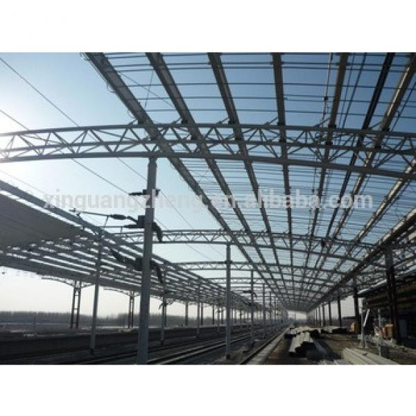 steel structure truss for railway station #1 image