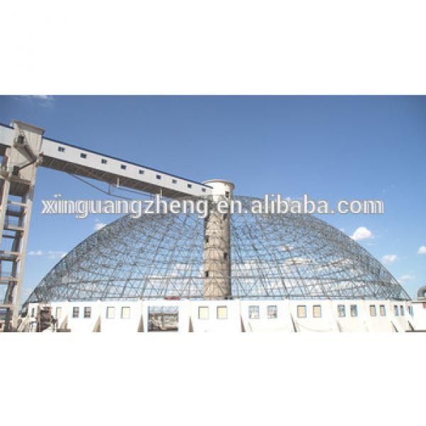 steel frame structure dome prefabricated steel plant buildings #1 image