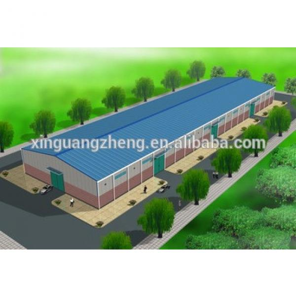 prefabricated building steel structure warehouse drawings #1 image