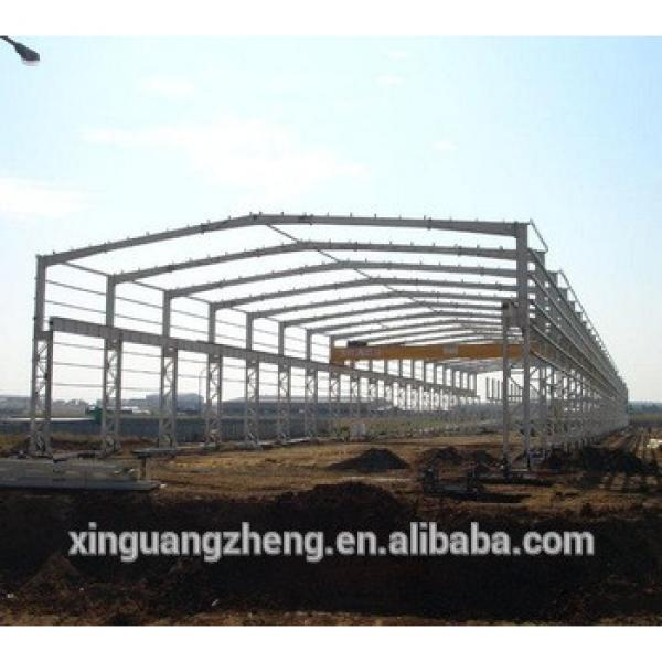 two story light weight steel structure warehouse steel shed plant large space truss structure #1 image